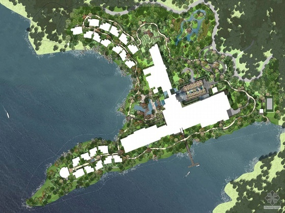 杭州旅游景区酒店室外环境景观设计(一)