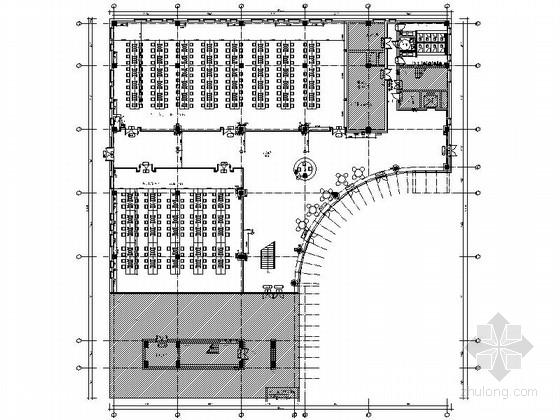 [成都]世界500强保险公司现代化综合性教育研修院图书馆装修施工图