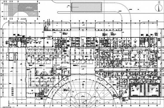 医院病房楼暖通空调及防排烟设计施工图(含楼宇能源)