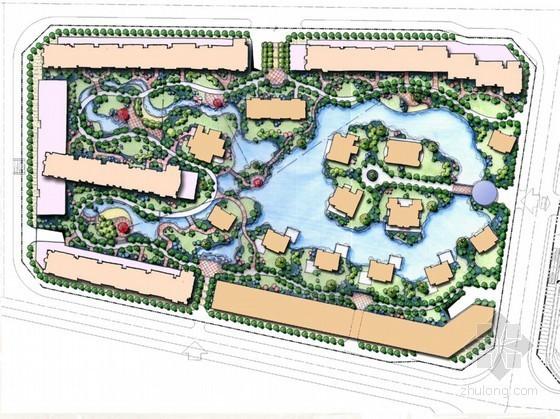 [北京]欧式园林风格居住区景观规划设计方案
