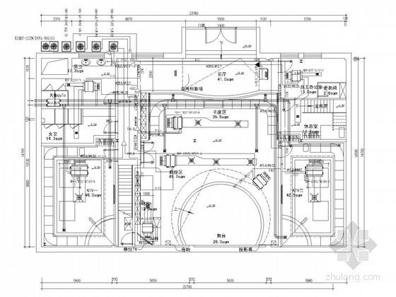 [北京]办公楼多联空调系统设计施工图