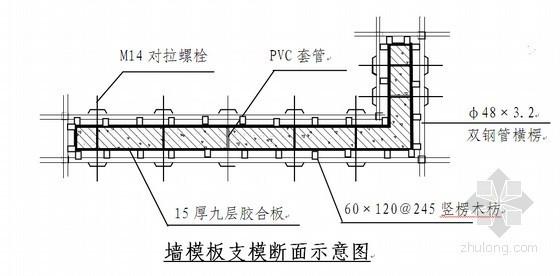 [青海]框剪结构住宅小区工程高支撑模板搭设专项施工方案(34页)