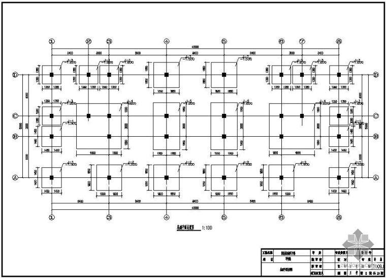 [学士]某商务写字楼毕业设计(含计算书,建筑、结构图)