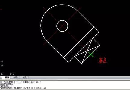 CAD技巧之移动、旋转和复制_6