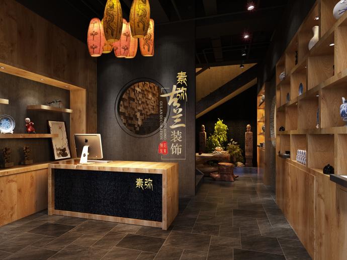 《素弥素食》-资阳酒楼设计装修,资阳酒楼设计公司-素弥素食餐厅4.jpg