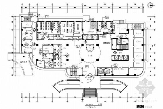 [北京]经济开发区现代化专科医院室内施工图(效果图)