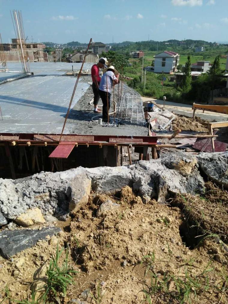 模板跨掉,7小时修复后重新浇筑混凝土,对工程质量影响有多少?