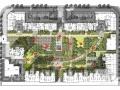 [西安]现代欧式住宅小区景观规划设计方案