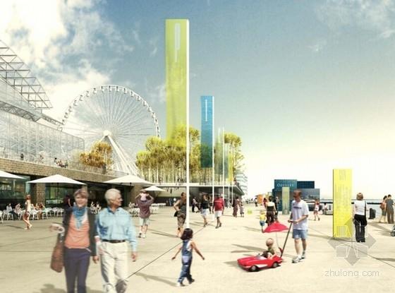 [国外]公园码头公共空间景观方案规划设计文本