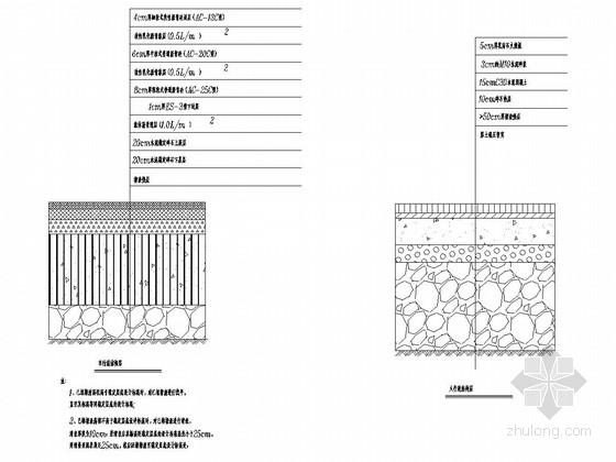 [浙江]城市支路道路工程及排水工程施工图设计53张