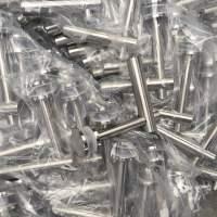 天波全部型号定制机加工配件立柱厂家直销 质量保证