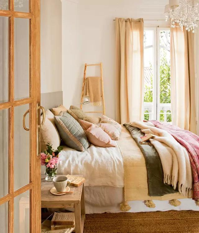 30套女人最爱的卧室设计?男同胞看了同样爱啊!_29