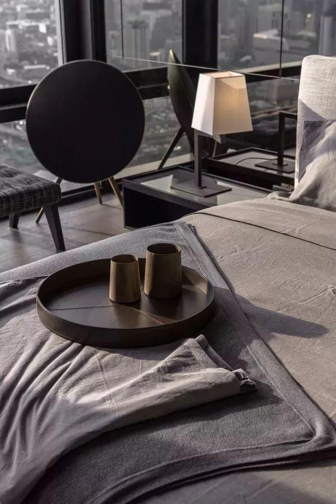 室内设计 130㎡的单身公寓,设计感十足_34