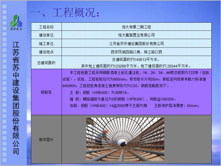 [QC成果]提高混凝土灌注桩钢筋笼一次制作合格率