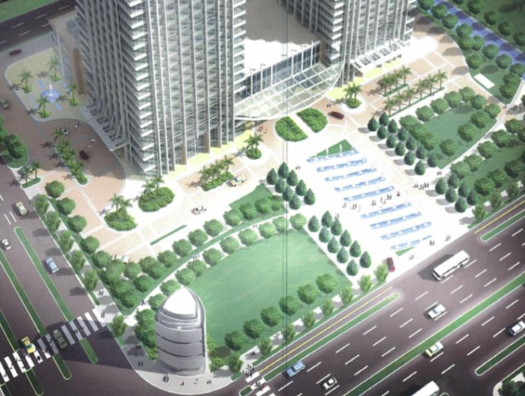 [上海]城开城市中心景观方案文本(PDF+37页)