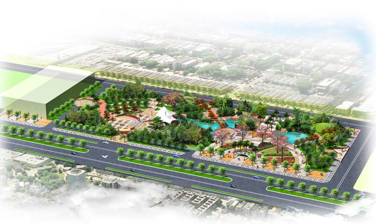 德庆县市政中心广场景观方案设计