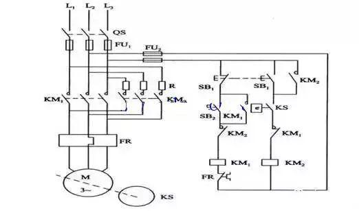 继电器控制交流接触器电路图讲解