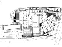 [浙江]杭州九里云松酒店景观设计CAD施工图+实景图-知名设计公司