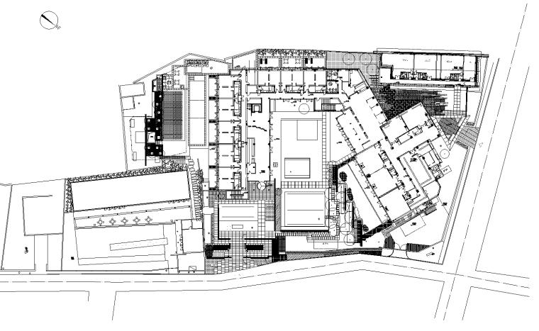 [浙江]杭州九里云松酒店景观设计cad施工图+实景图-知名设计公司图片