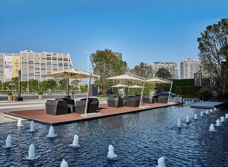 万科东江之星现代商业景观
