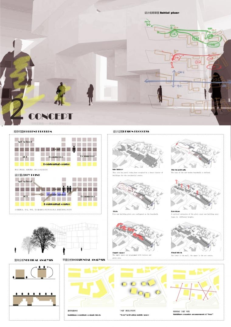 空间变奏曲——商业街及博物馆设计_7