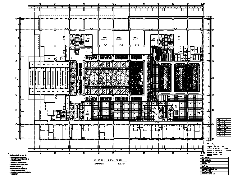 23000平米酒店空间设计施工图(附效果图+材料表)_5