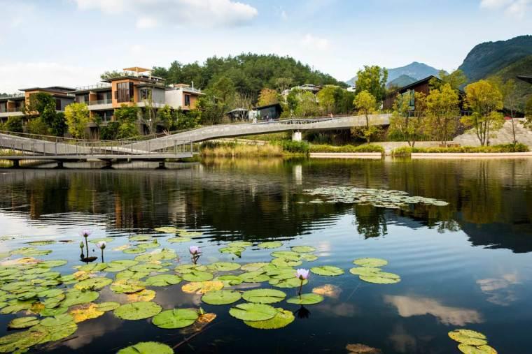 福州赤壁景区住宅周围景观