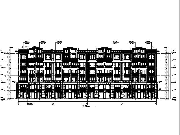 [浙江]多栋住宅及商业、地下车库建筑施工图(全专业送审图纸)