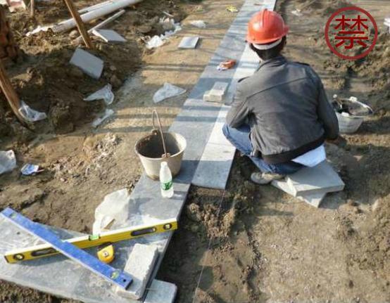 景观地面石材铺装前该如何排版?_14