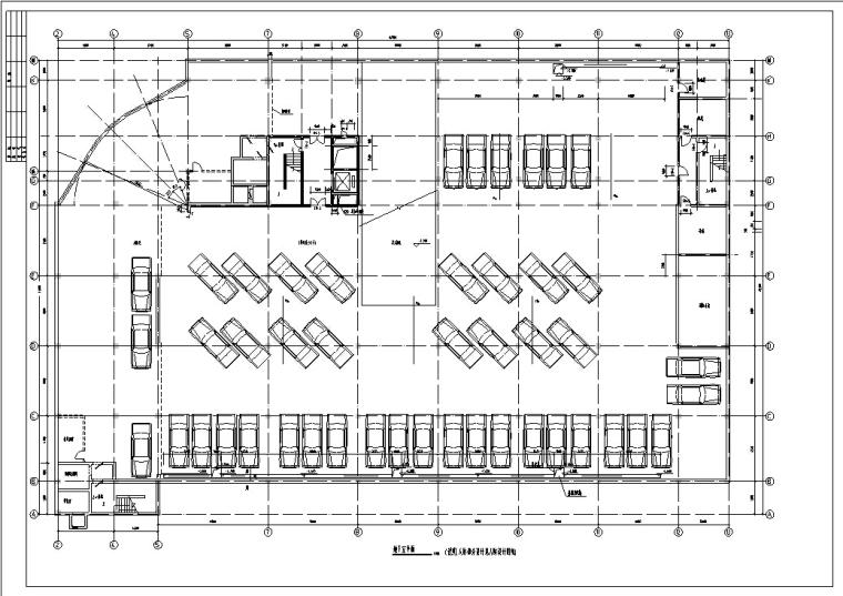 小学建筑设计初设图CAD-小学建筑设计平面图