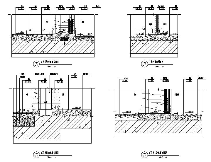 [广东]现代简洁风精装样板房设计(附效果图+物料表)