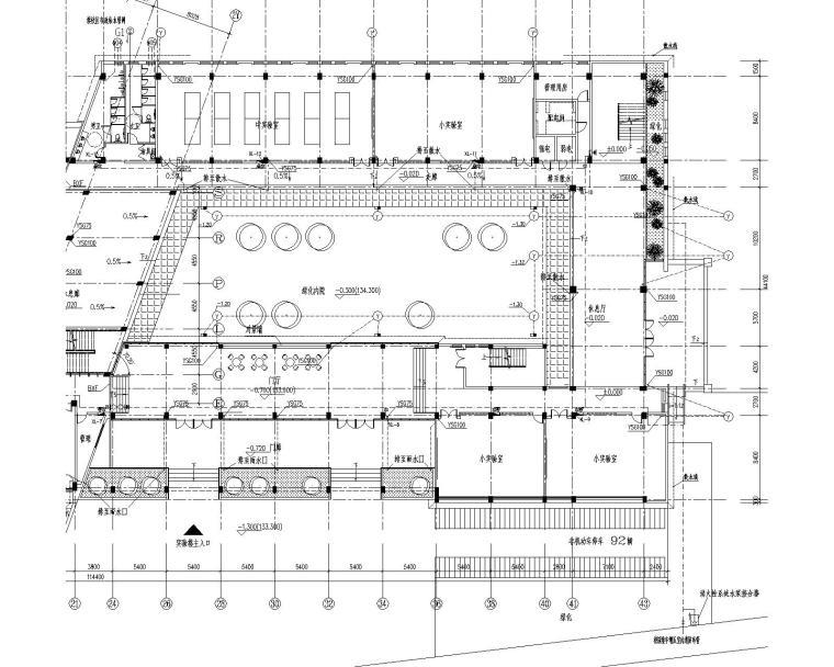 [安徽]某综合实验楼给排水施工图(含给排水、消防平面及系统图,卫生间详图等)