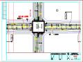 道路工程标线平面设计图