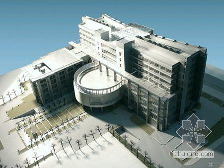 上海市高级人民法院审判法庭办公楼建筑设计文本