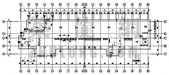 某中学教学楼建筑结构施工图
