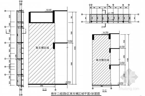 [贵州]综合教学楼工程超高支模架施工方案