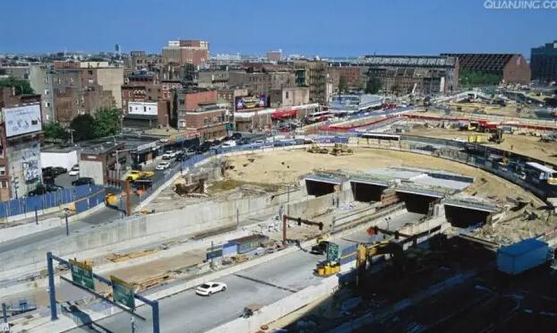 美国牛工程:美国波士顿大隧道