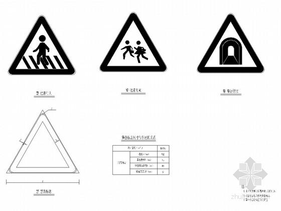 [四川]公路改建工程路线及交通工程施工图设计322张(波形护栏 里程碑)