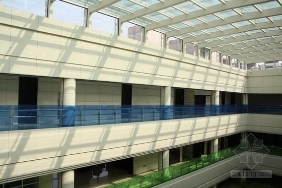 [杭州]市中心核心地带重点惠民工程文化中心装修图(含实景图) 中庭实景图