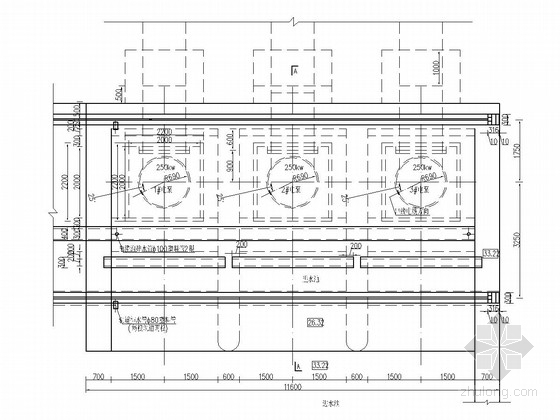 [湖南]泵站工程泵房初步设计施工图