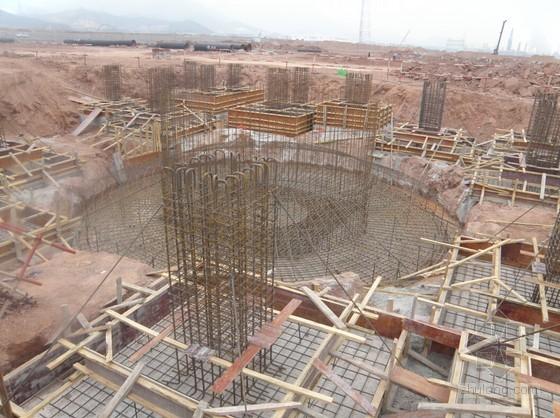 UASB反应器的设计计算资料下载-线性低密度聚乙烯(LLDPE)生产反应器基坑及框架施工现场照片(54张)