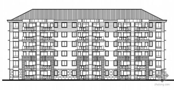 温州某小区六层住宅楼建筑施工图(1#楼)