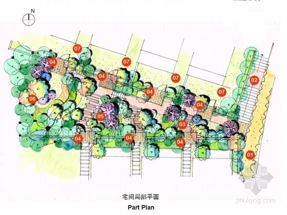[浙江]生态意趣别墅区及公共绿化带景观设计深化文本