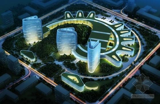 [贵州]国家三级甲等综合型超大型医院建筑设计方案文本