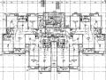 江西省大型商业综合体项目住宅子项电气施工图