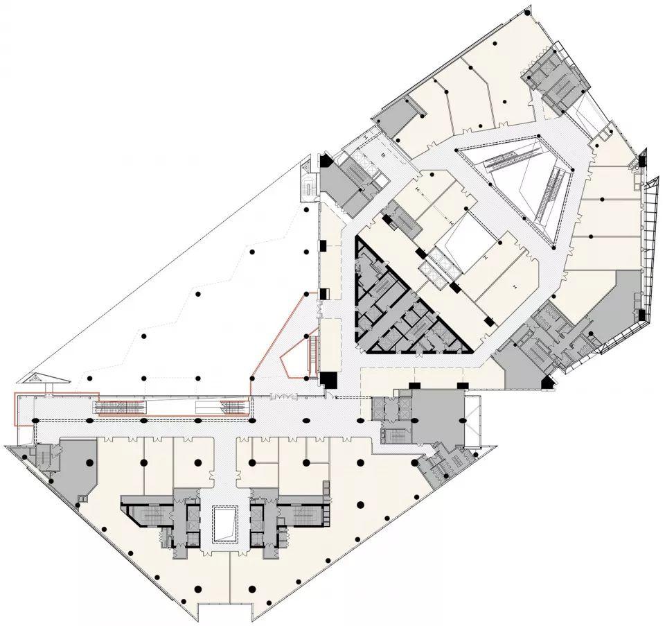 重新连结城市生活-上海世茂广场改造,上海/Kokaistudios_23