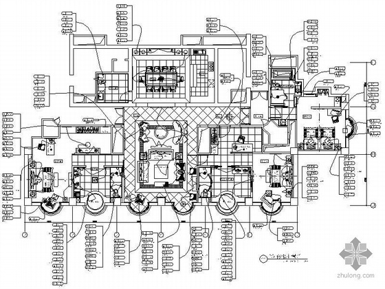 某总统套房装修设计图