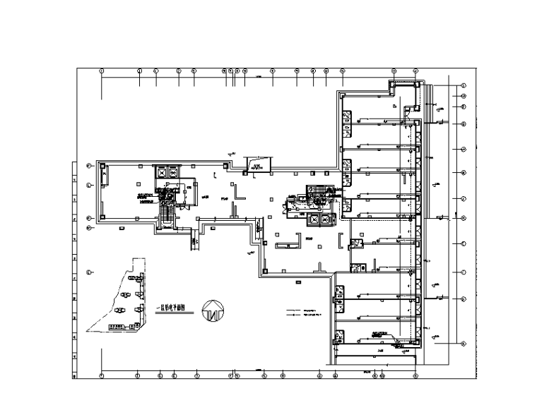 湖南大型商住楼电气施工图(含地下室、节能设计)