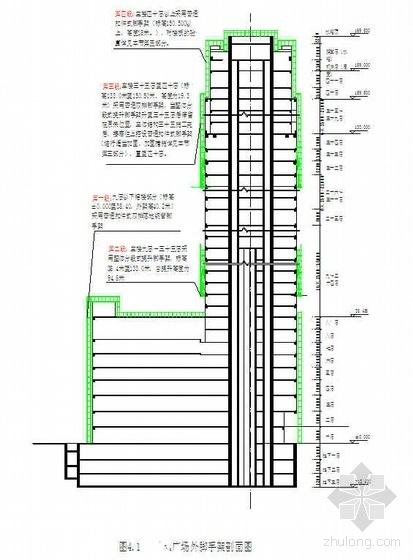 深圳某综合性建筑安全文明施工组织设计(鲁班奖 169.5米 文明安全工地)