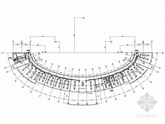 [宁夏]旅游园区办公楼空调通风及防排烟系统  设计施工图(风冷螺杆冷水热泵机组)